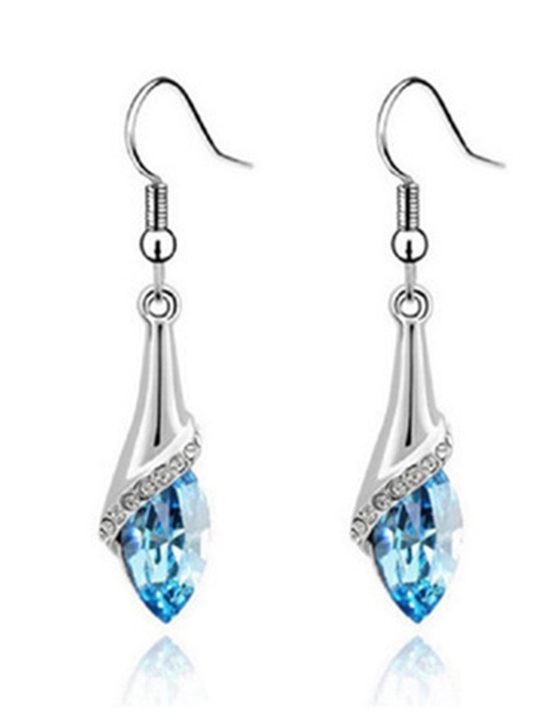 Elegant Alloy With Crystal Hot Sale Ladies Earrings