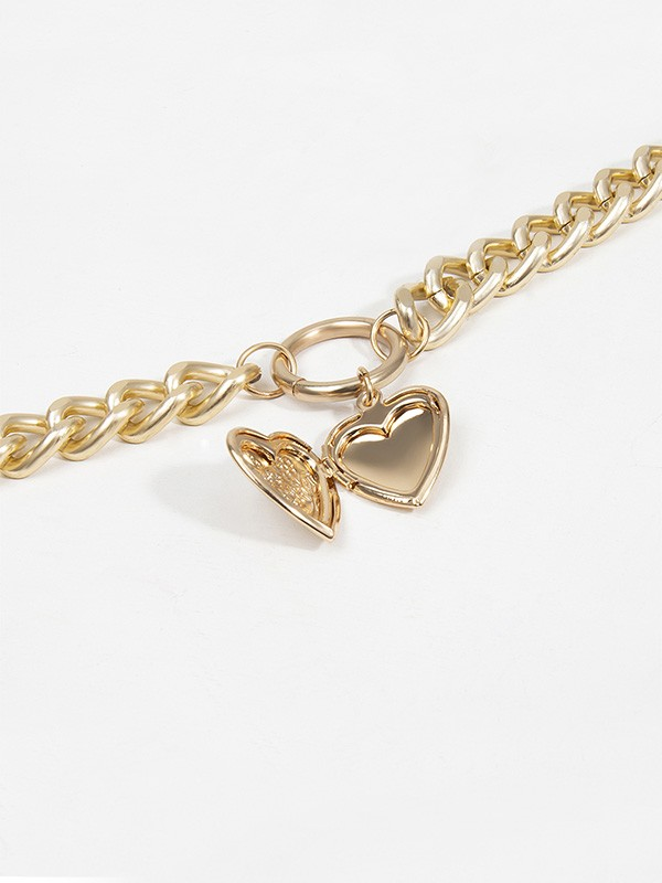 Fashion Alloy With Heart Hot Sale Necklaces